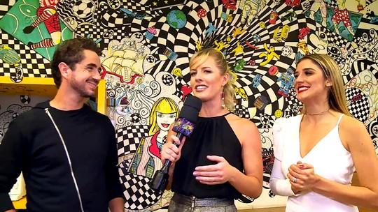 Rafa Brites e Felipe Andreoli falam sobre a relação com o filho Rocco
