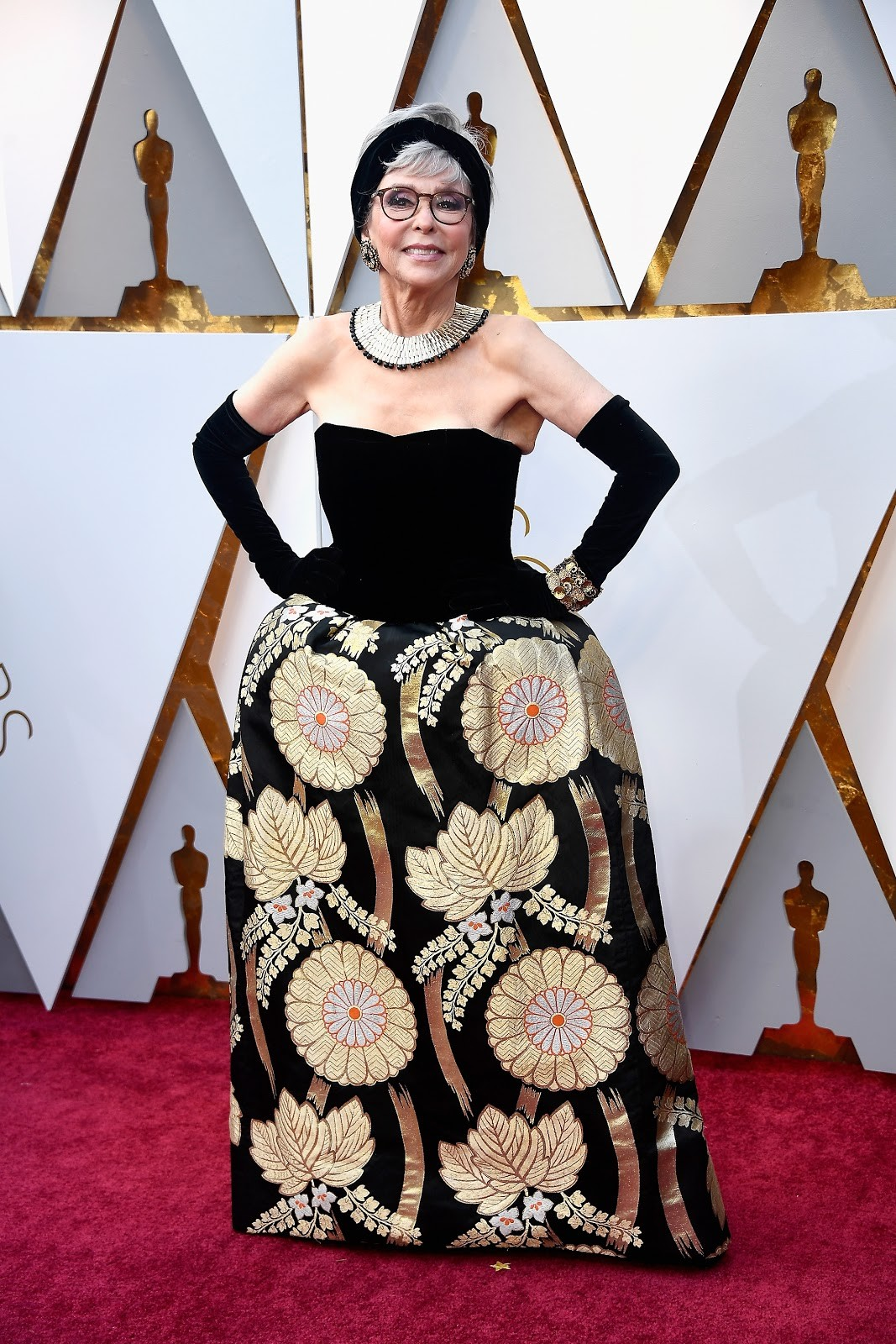 Rita Moreno no Oscar 2018 (Foto: getty)