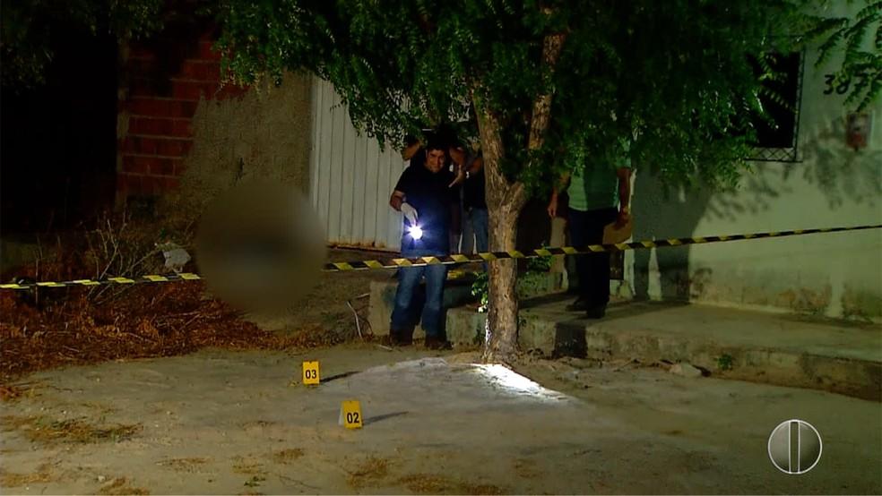 Suspeito morre durante assalto em Mossoró — Foto: Inter TV Cabugi/Reprodução