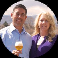 Keith Villa e sua esposa Jodi Villa. Ela será a CEO da companhia. (Foto: Reprodução/CERIA)