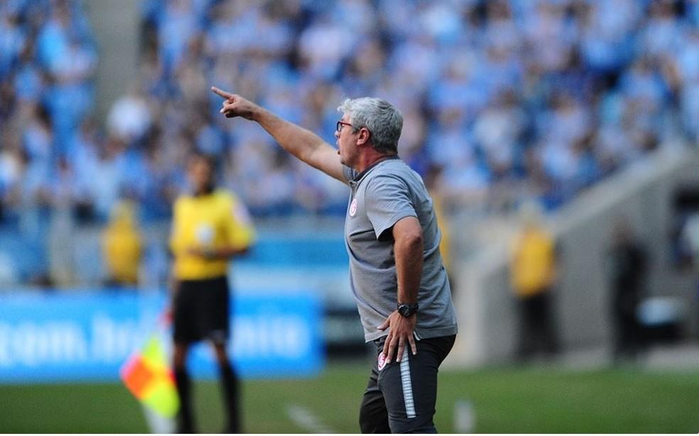 Odair alfinetou chance de goleada gremista na Arena (Foto: Ricardo Duarte / Internacional / Divulgação)