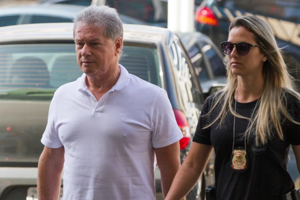 O empresário Jacob Barata (Rei do Ônibus) foi condenado pelo juiz Marcelo Bretas — Foto: Rodrigo Chadí/Fotoarena/Estadão Conteúdo