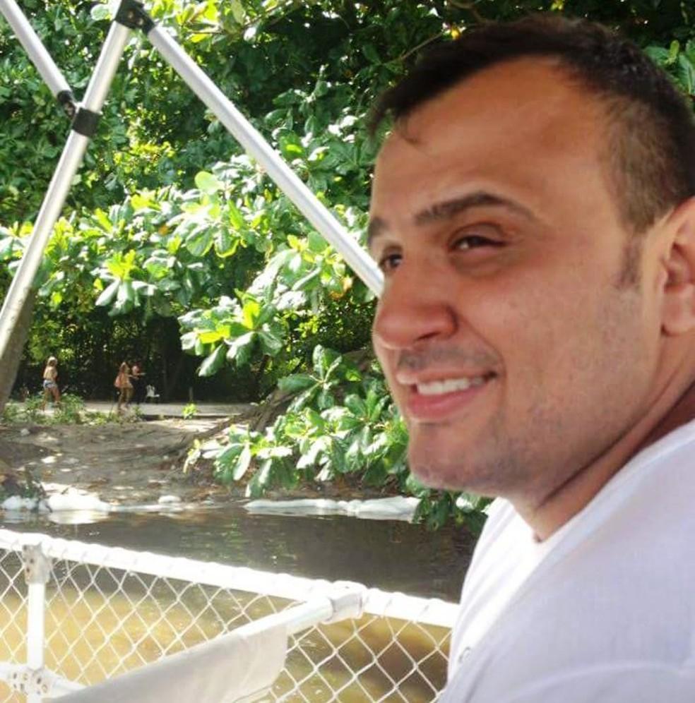 Investigador morreu após ser atingido por um disparo em Bertioga, SP (Foto: Arquivo Pessoal)