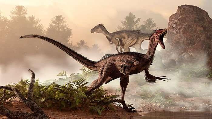 as características evolutivas dos Velociraptores permitiam que eles corressem super rápido e los ajudou a sobreviver na era Mesozóica (Foto: Divulgação Chinese Academy of Sciences)