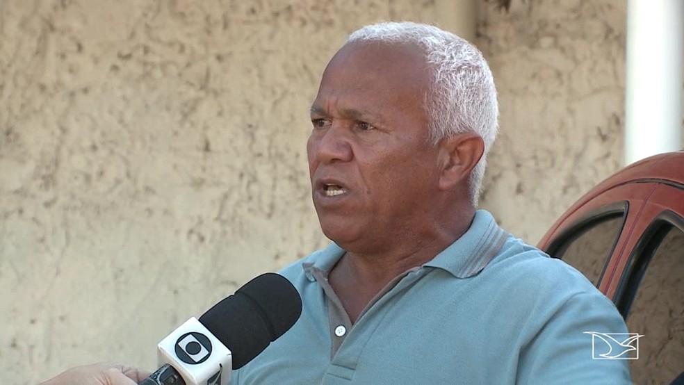 Acrísio Botão é irmão do sargento Rubem Ferreira (Foto: Reprodução/TV Mirante)