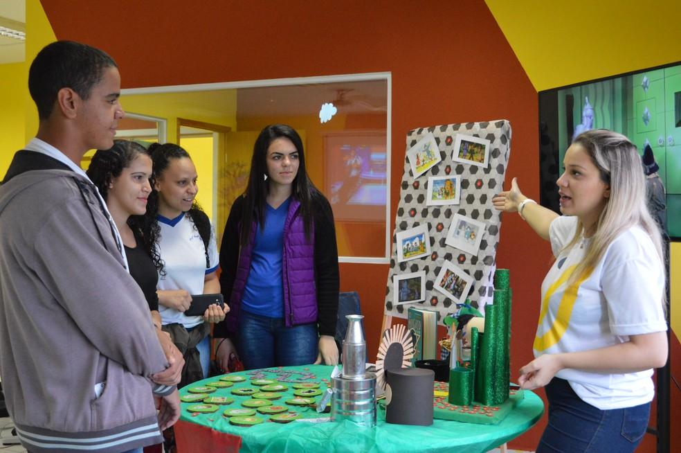 UniMAX realiza feira de profissões com entrada gratuita nesta quarta-feira (9), em Indaiatuba (SP) — Foto: Claudia Shirano/Maria Caroline Cabral