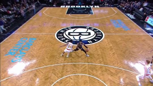 Melhores momentos: Brooklyn Nets 144 x 127 Atlanta Hawks pela NBA