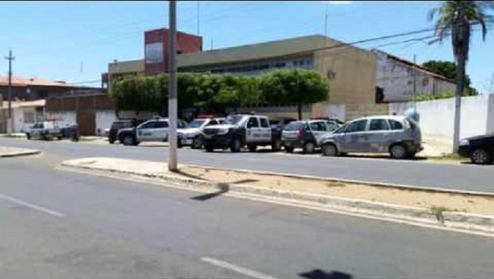 CDP de Assu, de onde nove presos fugiram neste sábado 7 (Foto: Franciso Oliveira/ Focoelho)