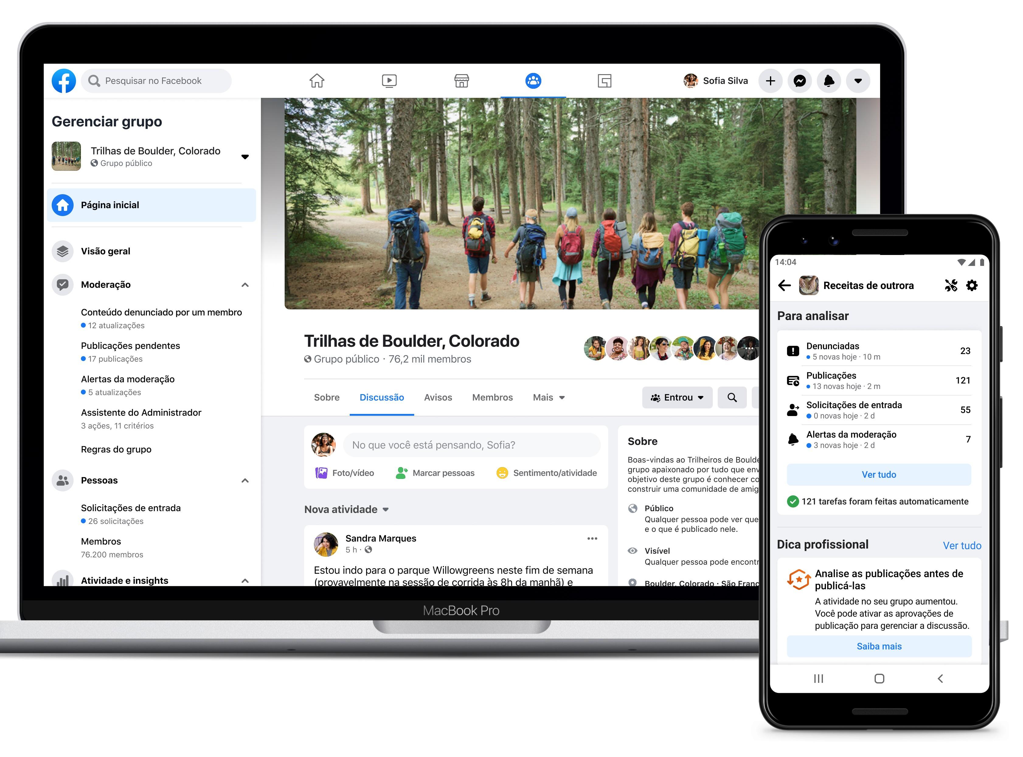 Facebook libera novos recursos para administradores controlarem o que é publicado em grupos