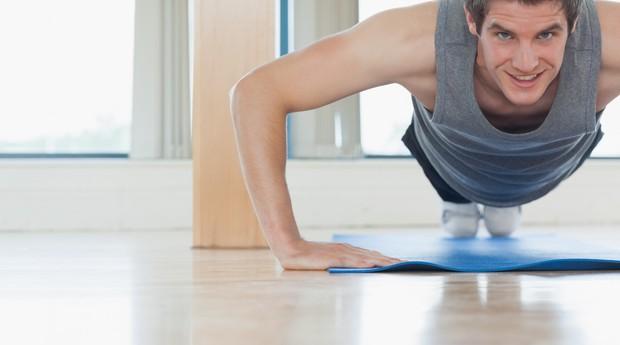 flexão; exercício (Foto: ThinkStock)