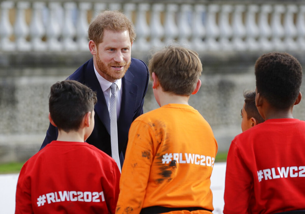 Prince Harry makes first public appearance after announcement of removal of ...