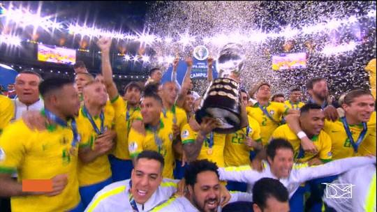 Seleção Brasileira é campeã da Copa América