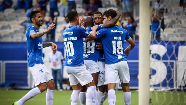 c624090f0f8 Cruzeiro 2 x 0 Tombense - Campeonato Mineiro 2019 rodada 9 - Tempo ...