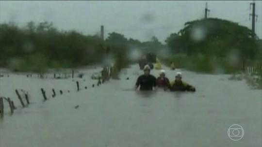 Aumenta número de mortos em Cuba por tempestade Alberto