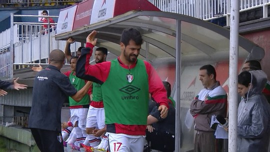 Por expulsão no banco, Rogério é punido com dois jogos de suspensão