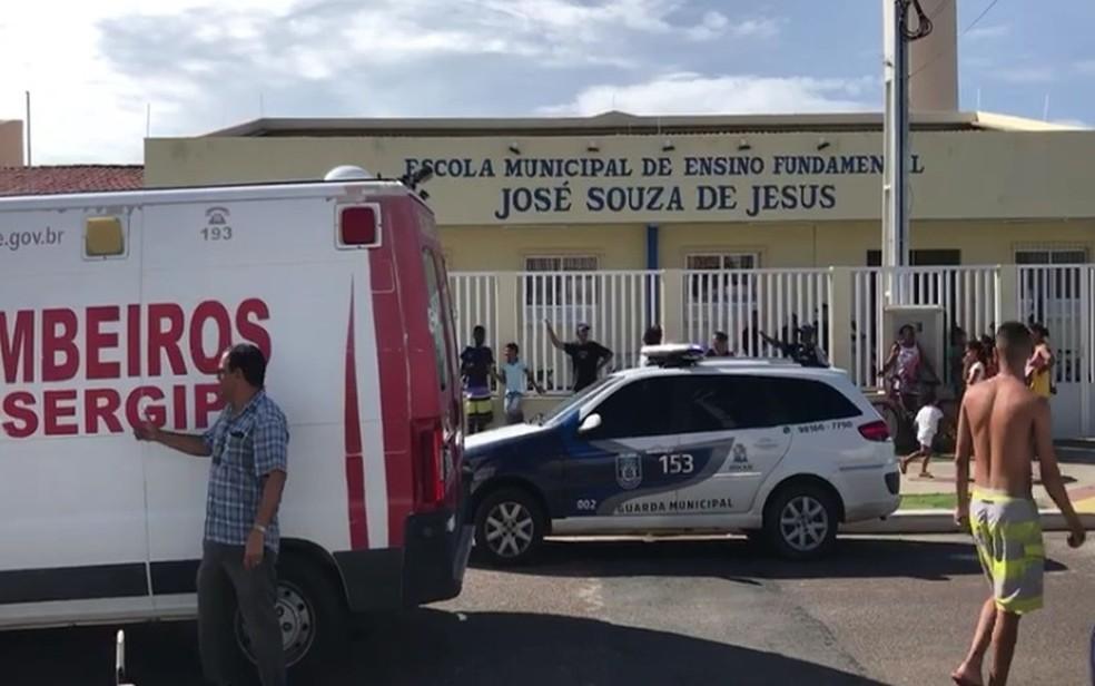 Professora morreu dentro da ambulância, a caminho do hospital â?? Foto: Cleverton Macedo/TV Sergipe