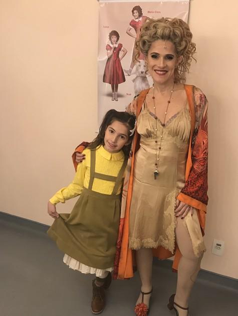Ingrid Guimarães com a filha, Clara (Foto: Arquivo pessoal)