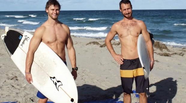 Andrew Cooper e Alex Schulze, da 4Ocean (Foto: Divulgação)