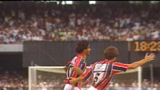 Lista GE: em vídeo, relembre cinco grandes vitórias do São Paulo sobre o Corinthians no Morumbi