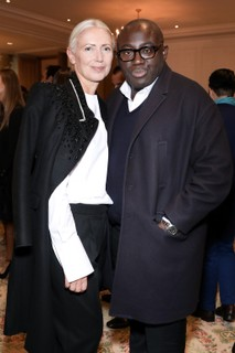 Christiane Arp e Edward Enninful