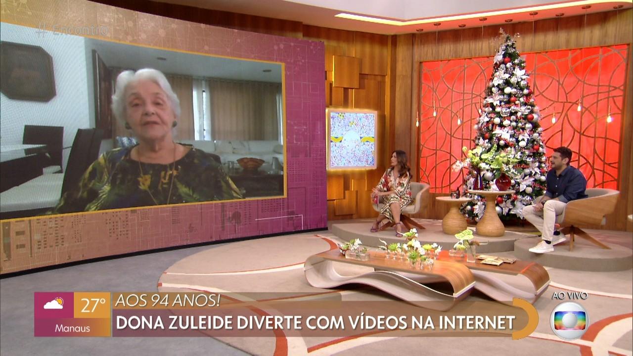 Dona Zuleide diverte o público com vídeos na internet