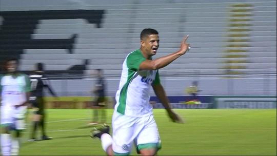 Os gols de Ponte Preta 2 x 1 Goiás pela 9ª rodada do Campeonato Brasileiro da Série B