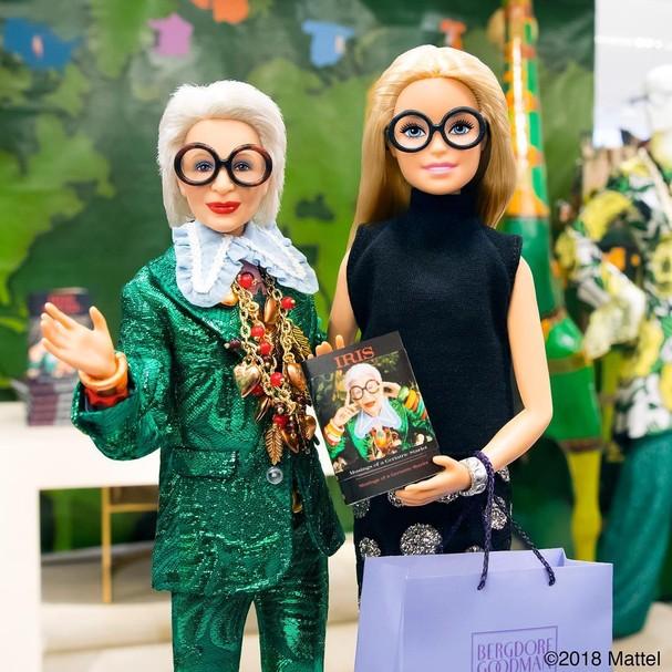 Nova Barbie da Iris Apfel (Foto: Reprodução de Instagram)