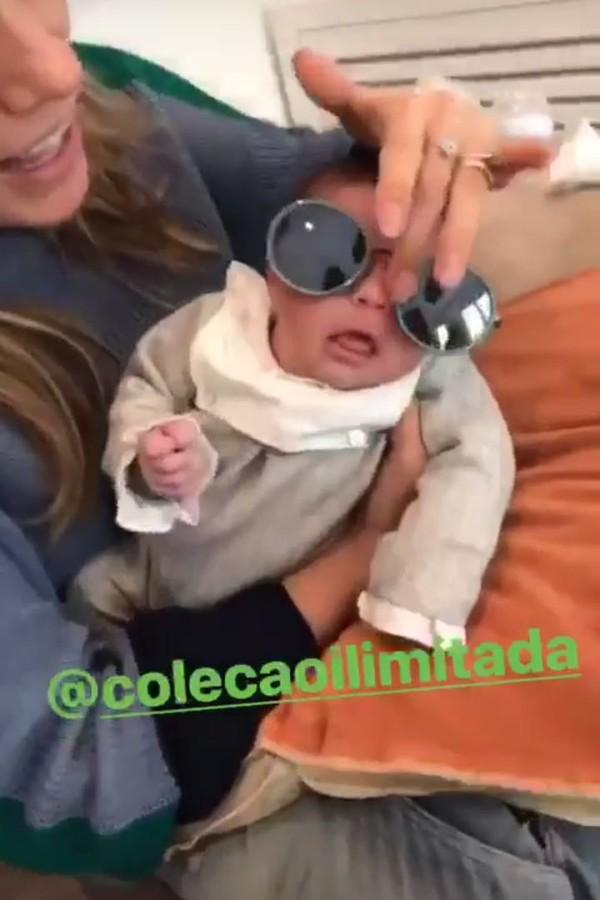 Joana Balaguer e Gaia (Foto: Instagram/Reprodução)
