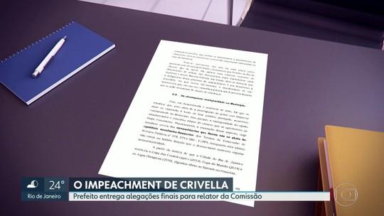 Crivella entrega considerações finais da defesa em processo de impeachment