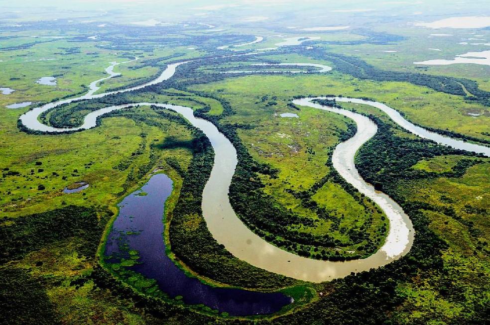 Estudo da Unemat aponta escassez de água no Pantanal mato-grossense — Foto:  Marcos Vergueiro/Secom-MT