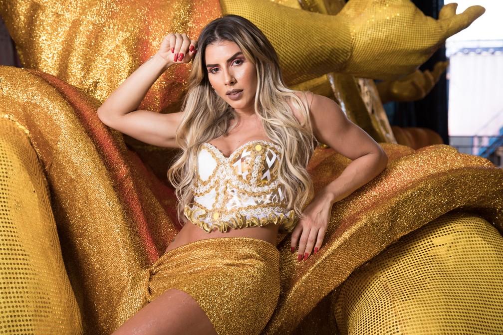 """Thaís Bianca: """"Ter celulite não deixa de te fazer sensual."""" (Foto: Celso Tavares/G1)"""