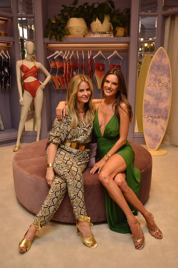 Alessandra Ambrosio launches a corner of the brand, in são Paulo, brazil (Photo: John salt)