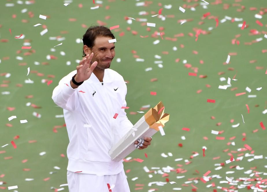 Nadal arrasa Medvedev e é campeão no Canadá pelo segundo ano seguido