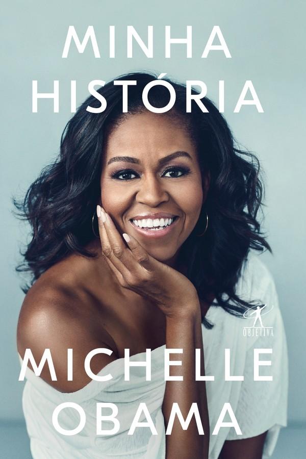 Capa do livro de memórias de Michelle Obama (Foto: Divulgação)