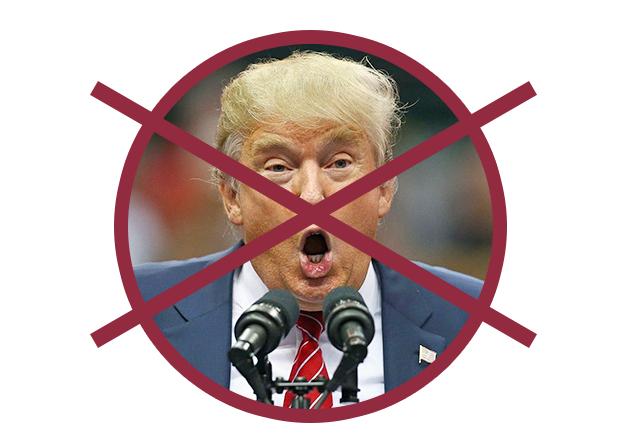 Nada de Trump! (Foto: Reprodução)
