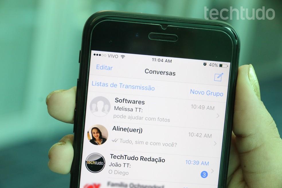 WhatsApp no iPhone: como usar filtros em fotos, vídeos e GIFs | Downloads |  TechTudo