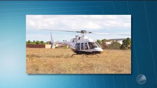 Após apresentar pane, helicóptero com cinco pessoas faz pouso não programado às margens da BA-142