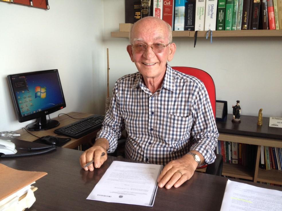 Advogado Frederico do Espírito Santo, que defende o tenente Wendel Nassau (Foto: Valdivan Veloso/G1)