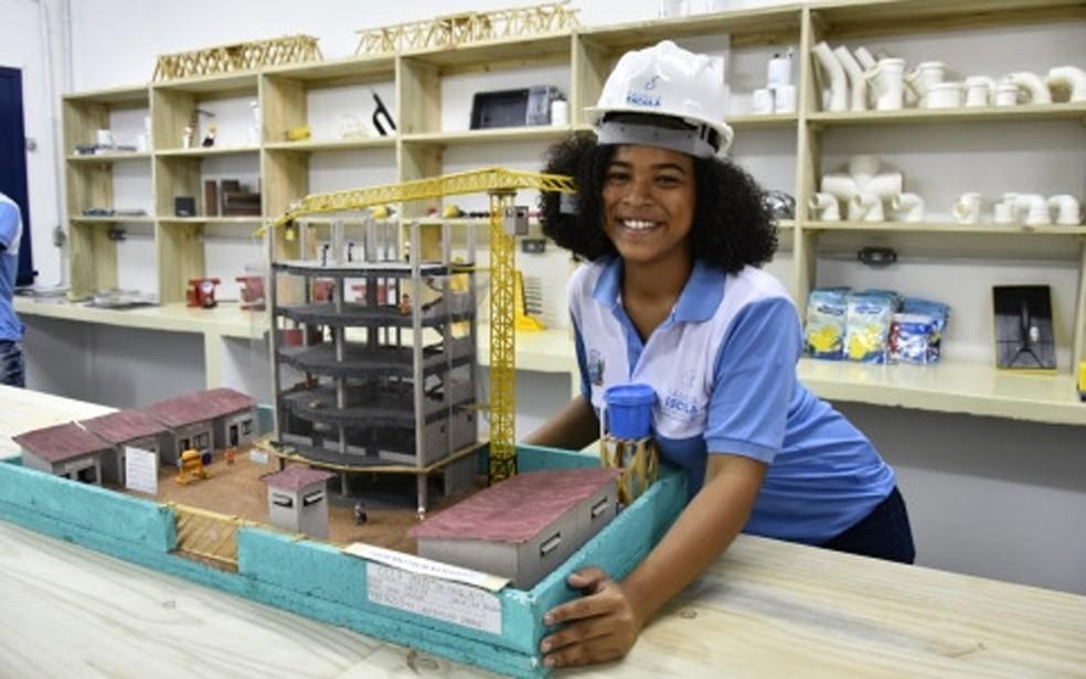 Inscrições abertas com mais de seis mil vagas para cursos técnicos voltados para concluintes do ensino médio da rede pública da Bahia — Foto: Divulgação