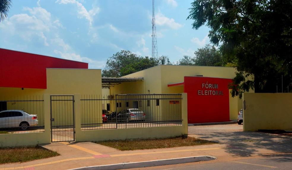 Dados foram divulgados pelo Fórum Eleitoral de Ariquemes (Foto: Jeferson Carlos/ G1)