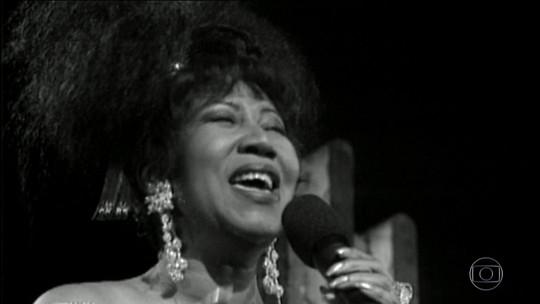 Aretha Franklin é homenageada por Nelson Motta