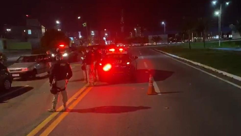 PRF autua 30 pessoas por embriaguez ao volante durante o fim de semana no RN — Foto: PRF
