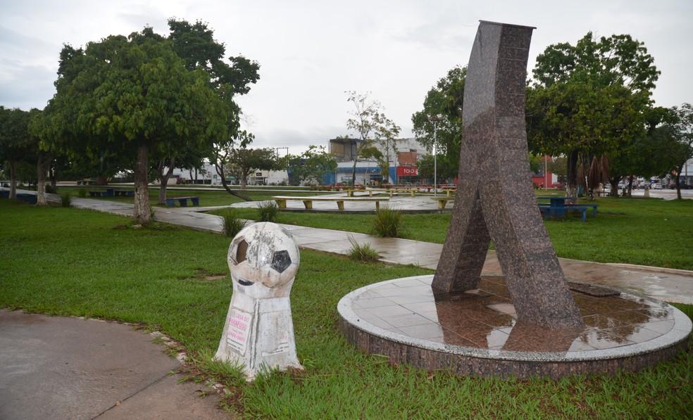 A cidade de Pimenta Bueno tem cerca de 34 mil habitantes, segundo o IBGE (Foto: Magda Oliveira/G1)