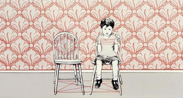 Quando Você Não Está Aqui, texto e ilustração de María Hergueta, Pulo do Gato, R$ 41. A partir de 3 anos. (Foto: Reprodução)