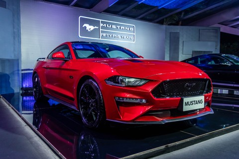 Lançamento do Mustang Black Shadow