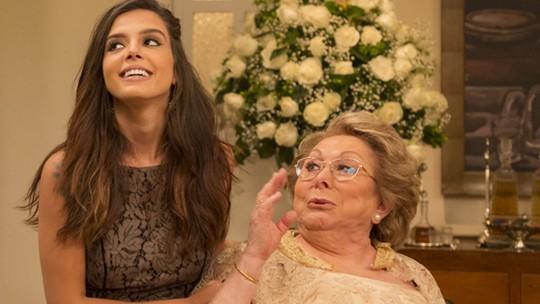 Aracy Balabanian revela que 'adotou' Giovanna Lancellotti como neta