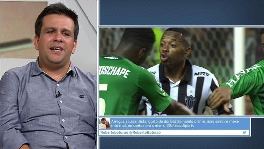 """Caio Ribeiro se diz fã de Robinho e crê que """"jogou onde?"""" faz parte de folclore"""
