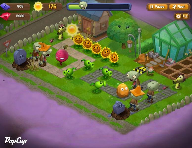 plants vs zombies adventures jogos download techtudo