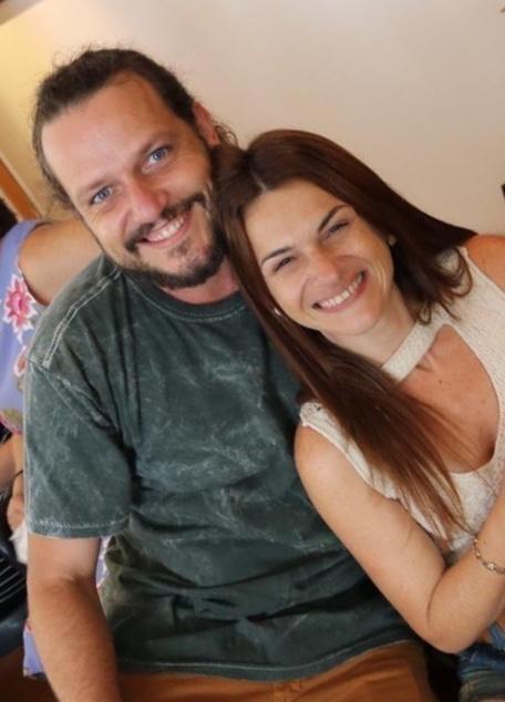 Edward e Erika Boggis (Foto: Acervo pessoal)