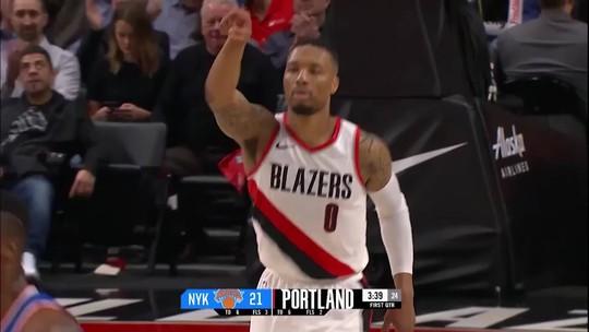 """""""Que horas são?"""": Hora de Lillard e Blazers, ameaças ao domínio de Warriors e Rockets"""